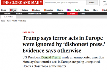 Trump says terror acts in Europe were ignored by 'dishonest press.' Evidence says otherwise