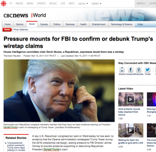 Pressure mounts for FBI to confirm or debunk Trump's wiretap claims
